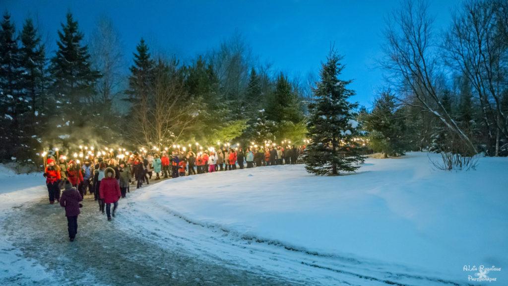 Marche aux flambeaux 19 décembre